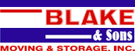 Blake & Sons Moving & Storage, Inc. Logo