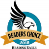 Reading Eagle 2018 Readers Choice Award'