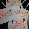 Bicycle Messenger Tote Bags'