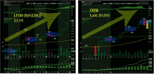 EKNL LFVN Comparison'