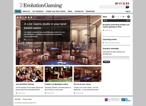 Evolution Gaming'