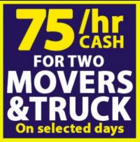 Mario Moving Company Logo