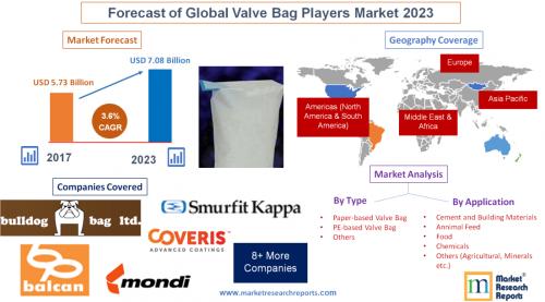 Forecast of Global Valve Bag Players Market 2023'