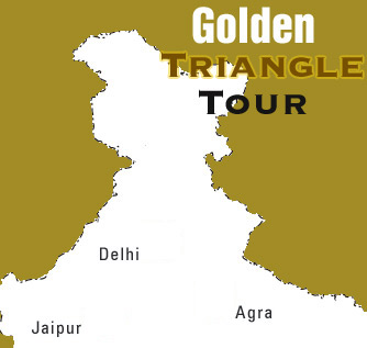 Logo for Golden Triangle Tours'