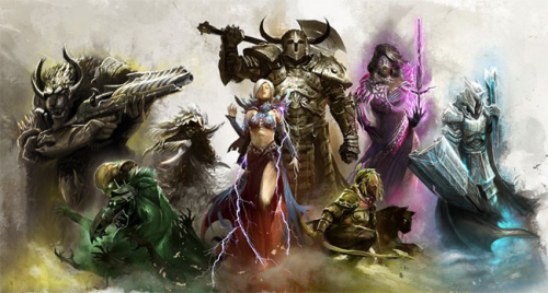 guild wars 2 all classes'