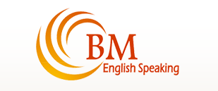 Logo for BM English Speaking'