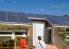 Solar panel installation on ADU'