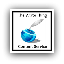 The Write Thing Content Service'