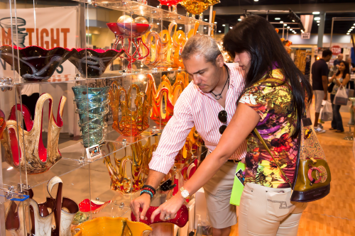 SHOW EXHIBITORS OPTIMISTIC ABOUT SALES AS BOOSTS IN  CONSUME'