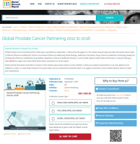 Global Prostate Cancer Partnering 2012 to 2018