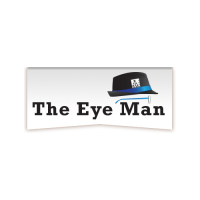 The Eye Man Optical Logo