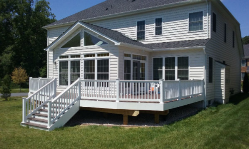 Deck and Addition'