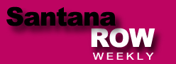 Logo for santana row weekly'