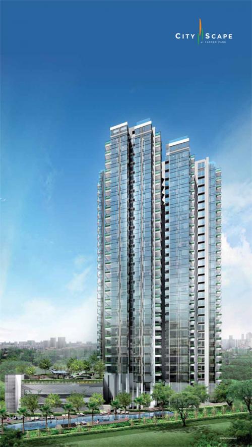 Cityscape Farrer Park Building View'