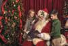 Santa Reads to Children'