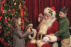 Santa Meets Children'