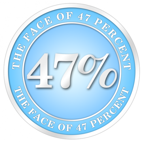 THE FACE OF 47 PERCENT'