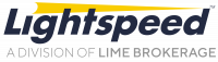 Lightspeed, a division of Lime Brokerage Logo