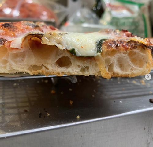 Roman-style Pizza'