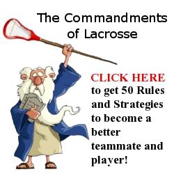 The Commandments of Lacrosse'