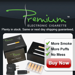 Premium Vapes electronic cigarette'
