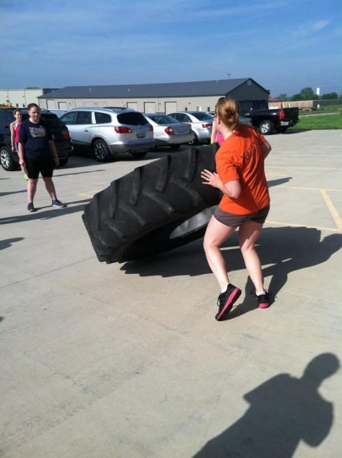 Champaign Illinois personal trainer workout picture'