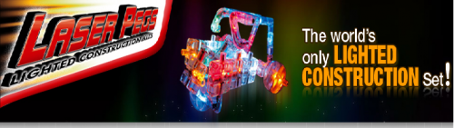 Logo for Laser Pegs Ventures, LLC'