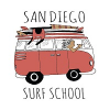 Company Logo For San Diego Surf School'