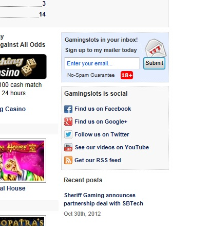 Gamingslots social'