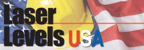 Logo for Laser Levels USA'