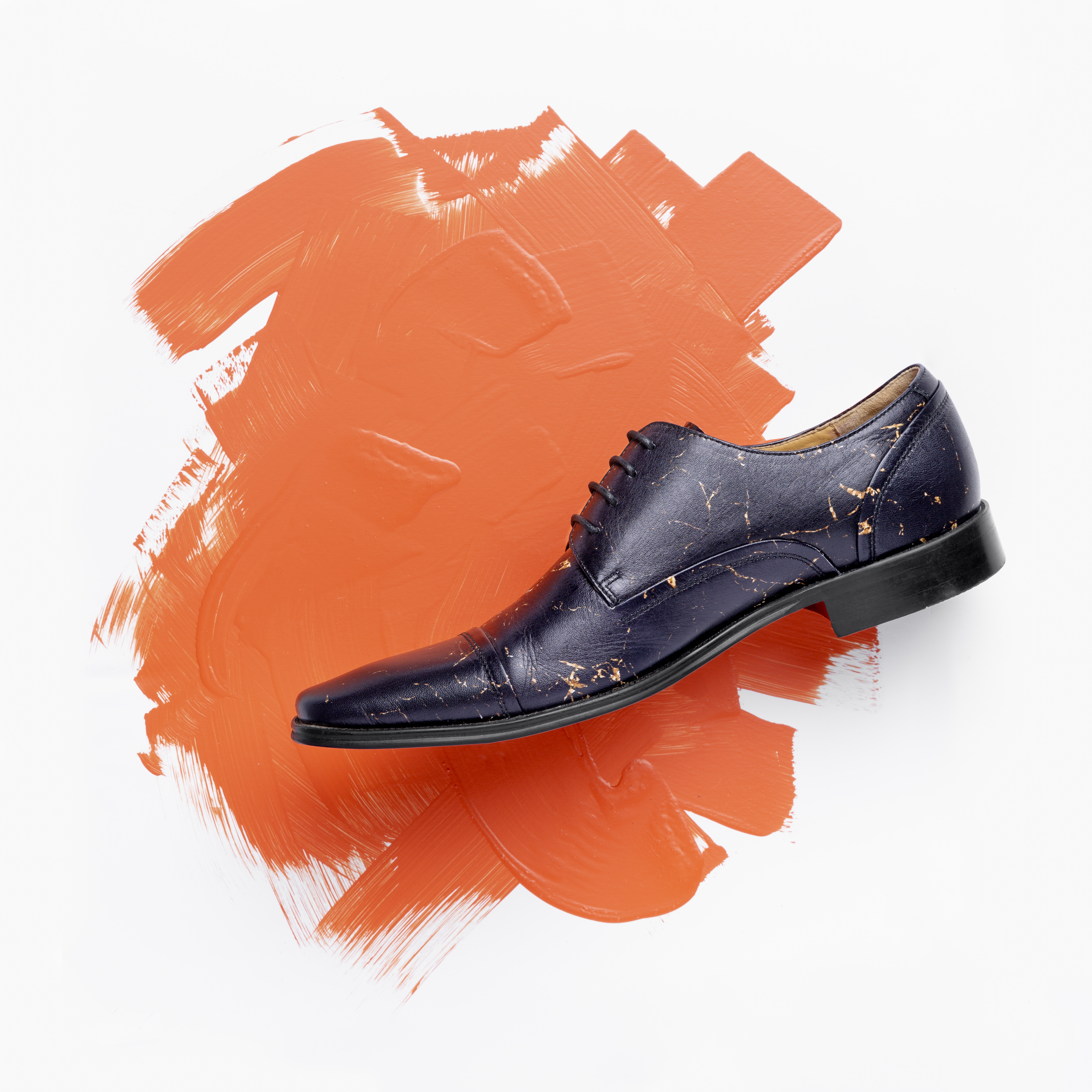 Thatcher Finch patterned leather footwear