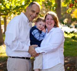 Chris Mahoney & family'