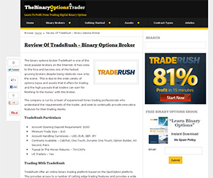 Binary Options Brokers'