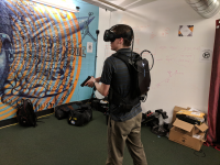 Police training in VR with Apex Officer.