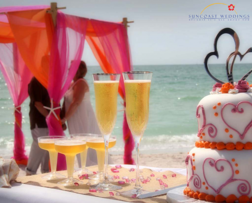 Florida Beach Weddings and Reception Packages'