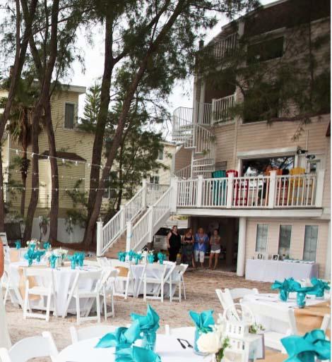 Beach House Wedding Reception'
