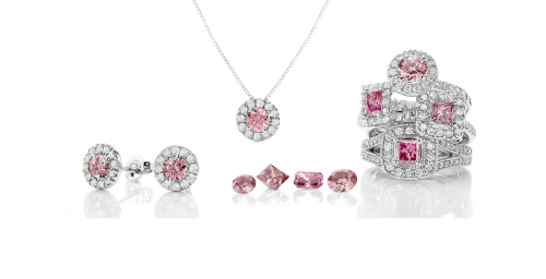 Studio 36 West Jewelry Photography Pink Diamond Collection'