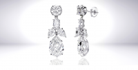 Studio 36 West Jewelry Photography Diamond Earrings