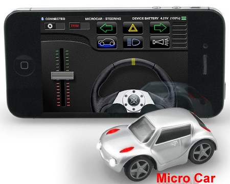 ZenWheels Micro Car - RC Car For Your iPhone'