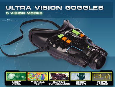 SpyNet Ultra Vision Night Vision Goggles'