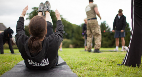 Fitness boot camp'