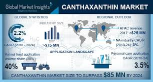 Canthaxanthin market'