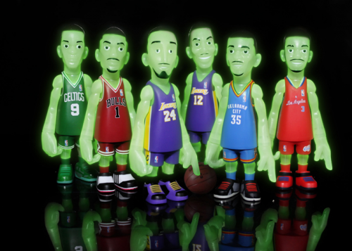 NBA GLOW IN THE DARK COLLECTION'