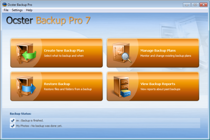 Ocster Backup Pro Review'