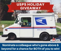 MyFEDBenefits Hosts USPS Holiday Giveaway