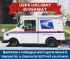 MyFEDBenefits Hosts USPS Holiday Giveaway'