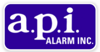 A.P.I. Alarm Inc. Logo