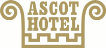 Logo for Ascot Hotel'