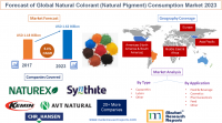 Forecast of Global Natural Colorant (Natural Pigment) Consum