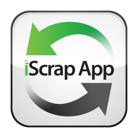 Logo for iScrap App'